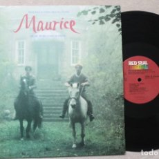 Discos de vinilo: BSO MAURICE LP VINYL MADE IN USA 1987. Lote 194736050