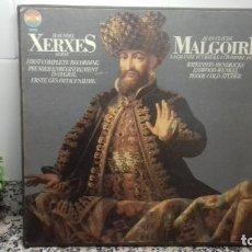 Discos de vinilo: HAENDEL XEREXES. JEAN-CLAUDE MALGOIRE. Lote 194736581