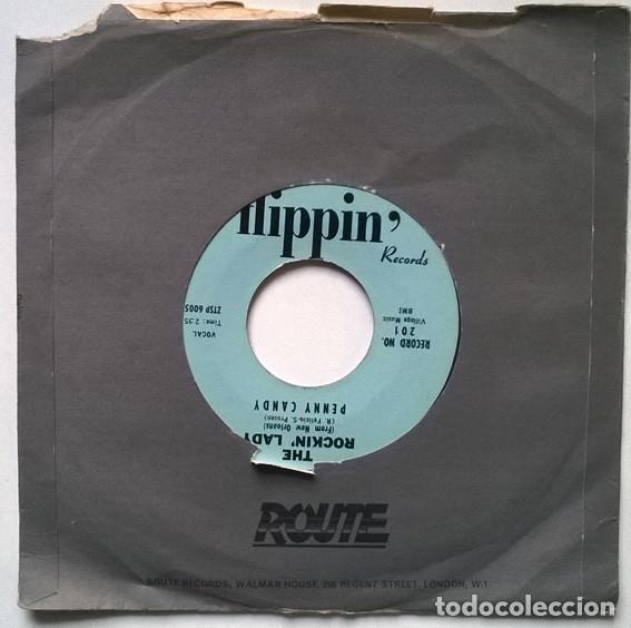 PENNY CANDY. THE ROCKIN' LADY/ WHY EACH NIGHT. FLIPPIN' USA 1959 SINGLE (Música - Discos - Singles Vinilo - Rock & Roll)