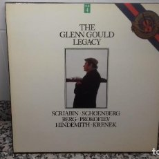 Discos de vinilo: THE GLENN GOULD LEGACY. Lote 194737551