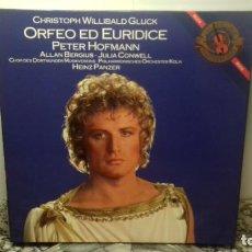 Discos de vinilo: CHRISTOPH WILLIBALD GLUCK. PETER HOFMANN. Lote 194738252