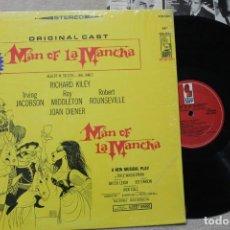 Discos de vinilo: BSO MAN OF LA MANCHA LP VINYL MADE IN USA 1966. Lote 194738553