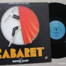 Discos de vinilo: BSO CABARET LP VINYL GATEFOLD MADE IN ENGLAND 1986. Lote 194738700