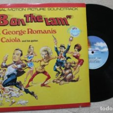 Discos de vinilo: BSO 8ON THE LAM GEORGE ROMANIS LP VINYL MADE IN USA 1967. Lote 194738902