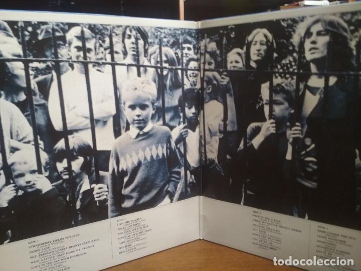 Discos de vinilo: THE BEATLES THE BEATLES 1967-1970 LP SPAIN 1973 PEPETO TOP - Foto 2 - 194740197