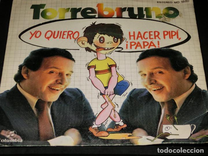 SINGLE - ROCKY TORREBRUNO - YO QUIERO HACER PIPÍ PAPÁ - 1979 (Música - Discos - Singles Vinilo - Música Infantil)