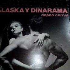 Discos de vinilo: LP ALASKA Y DINARAMA DESEO CARNAL. Lote 194746423