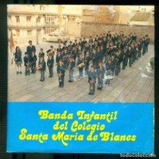 Discos de vinilo: NUMULITE * BANDA INFANTIL DEL COLEGIO SANTA MARÍA DE BLANES. Lote 194746436