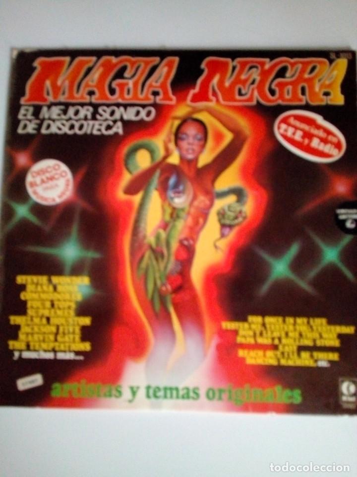 LP MAGIA NEGRA (Música - Discos de Vinilo - EPs - Rock & Roll)