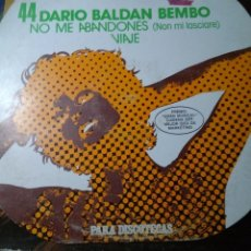 Discos de vinilo: LP SUPERSINGLES 44 DARIO BALDAN BEMBO. Lote 194746813
