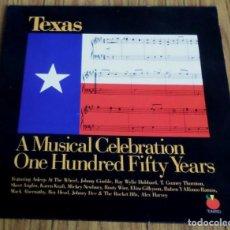 Discos de vinilo: DOBLE -- TEXAS -- A MUSICAL CELEBRATION ONE HUNDRED TIFTY TEARS . Lote 194748030
