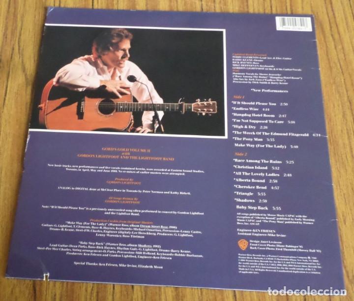 Discos de vinilo: GORDON LIGHTFOOT -- Gord´s gold volumen II - Foto 2 - 194748226