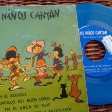 Discos de vinilo: E P ( VINILO) LOS NIÑOS CANTAN AÑOS 60. Lote 194748437