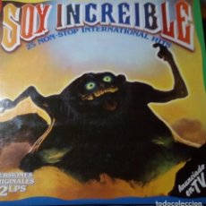 Discos de vinilo: LP SOY INCREIBLE. Lote 194748576