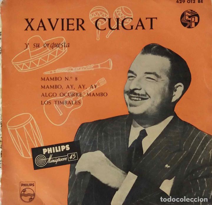 XAVIER CUGAT. MAMBO Nº 8. EP ESPAÑA ORIGINAL (Música - Discos de Vinilo - EPs - Orquestas)