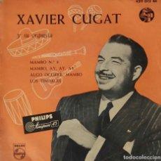 Discos de vinilo: XAVIER CUGAT. MAMBO Nº 8. EP ESPAÑA ORIGINAL. Lote 194749090