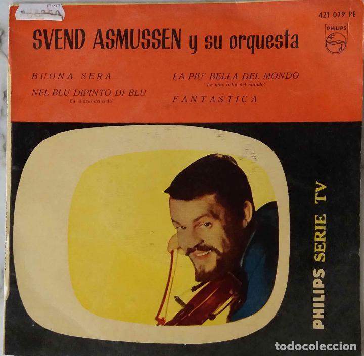 SVEND ASMUSSEN Y SU ORQUESTA. BUONA SERA. EP ORIGINAL ESPAÑA (Música - Discos de Vinilo - EPs - Orquestas)