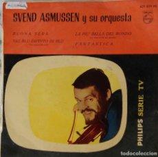 Discos de vinilo: SVEND ASMUSSEN Y SU ORQUESTA. BUONA SERA. EP ORIGINAL ESPAÑA. Lote 194749310