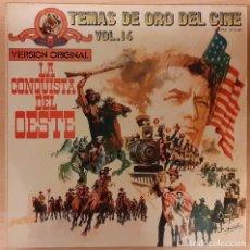 Discos de vinilo: LA CONQUISTA DEL OESTE (HOW THE WEST WAS WON) ALFRED NEWMAN. Lote 194751122