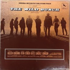 Discos de vinilo: GRUPO SALVAJE (THE WILD BUNCH) JERRY FIELDING. Lote 194751470