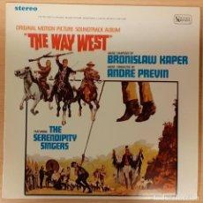 Discos de vinilo: CAMINO DE OREGÓN (THE WAY WEST) BRONISLAW KAPER. Lote 194752103