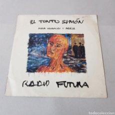 Discos de vinilo: RADIO FUTURA - EL TONTO SIMON - EL VIENTO DE AFRICA. Lote 194753141