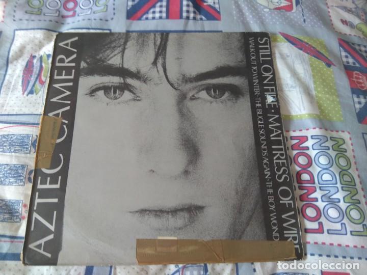 AZTEC CAMERA - STILL ON FIRE (Música - Discos de Vinilo - Maxi Singles - Pop - Rock - New Wave Extranjero de los 80)