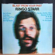 Discos de vinilo: RINGO STARR - BLAST FROM YOUR PAST (LP) (APPLE RECORDS) 1 J 064-06008 (D:NM) COMO NUEVO. Lote 194753800