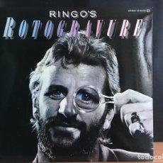 Discos de vinilo: RINGO STARR - RINGO'S ROTOGRAVURE (LP, ALBUM, GAT) (POLYDOR) (D:NM) COMO NUEVO. Lote 194753838