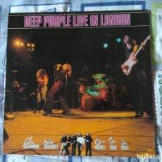 Discos de vinilo: DEEP PURPLE - LIVE IN LONDON. Lote 194754955