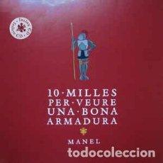 Discos de vinilo: MANEL – 10 MILLES PER VEURE UNA BONA ARMADURA-EDICIÓN 2011-PRECINTADO DE FABRICA.NUEVO.. Lote 194755311