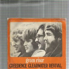 Discos de vinilo: CREEDENCE CLEARWATER GREEN RIVER. Lote 194755855