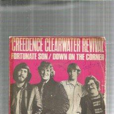 Discos de vinilo: CREEDENCE CLEARWATER FORTUNATE SON. Lote 194755910