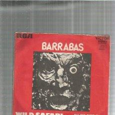 Discos de vinilo: BARRABAS WILD SAFARI. Lote 194756508