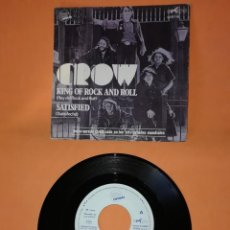 Discos de vinilo: CROW. KING OF ROCK AND ROLL. EXIT RECORDS 1971. Lote 194757413