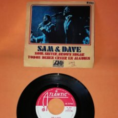 Discos de vinilo: SAM & DAVE. SOUL SISTER, BROWN SUGAR. ATLANTIC RECORDS 1968. Lote 194757845