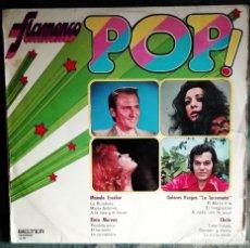 Discos de vinilo: VARIOUS - ¡¡ FLAMENCO POP !! LP, COMPILATION 1972 RUMBA . Lote 194758010