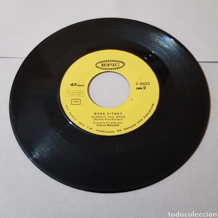 Discos de vinilo: GENE PITNEY - SAN REMO 1967 - Foto 3 - 194758156