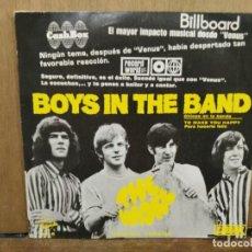 Discos de vinilo: THE WAKE - BOYS IN THE BAND / TO MAKE YOU HAPPY - SINGLE DEL SELLO CARNABY 1970. Lote 194758257
