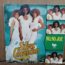Discos de vinilo: SILVER CONVENTION - NO,NO JOE / THANK YOU, MR. D.J. -SINGLE DEL SELLO BP 1976. Lote 194759928