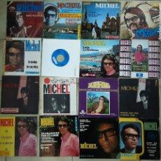 Discos de vinilo: LOTE DE 14 SINGLES Y 3 EP'S DE MICHEL. Lote 194760866