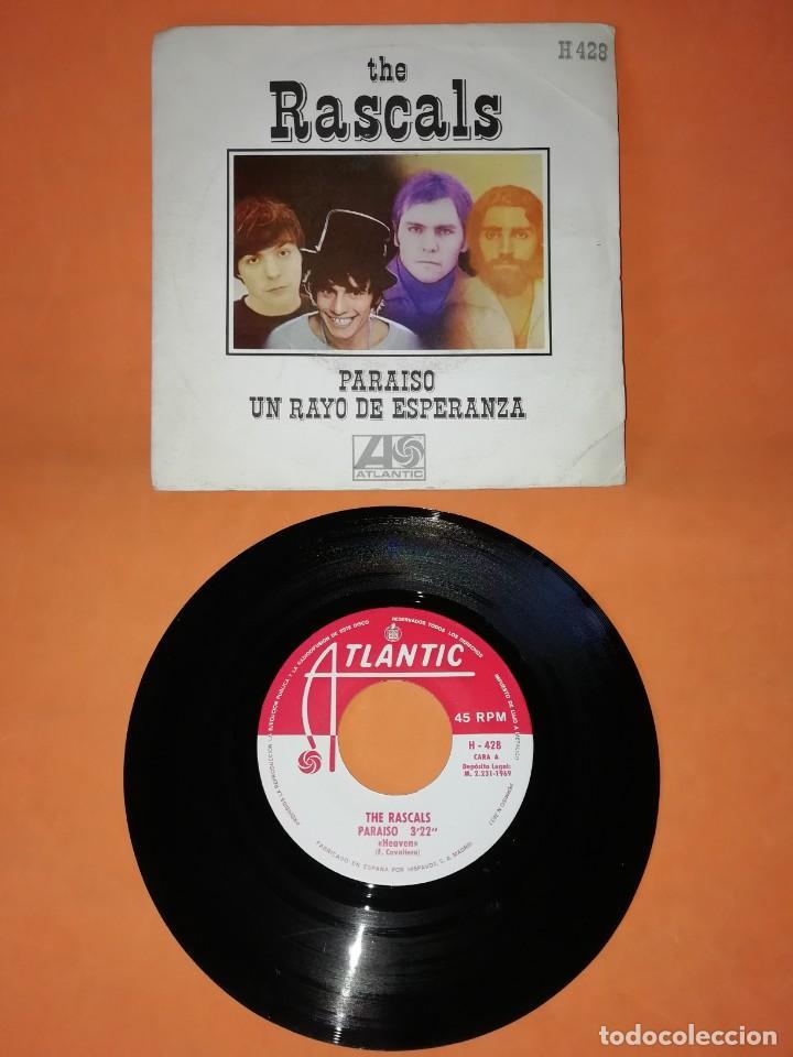 THE RASCALS. PARAISO . UN RAYO DE ESPERANZA. ATLANTIC RECORDS. 1969 (Música - Discos - Singles Vinilo - Pop - Rock Extranjero de los 50 y 60)