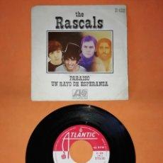 Discos de vinilo: THE RASCALS. PARAISO . UN RAYO DE ESPERANZA. ATLANTIC RECORDS. 1969. Lote 194761641