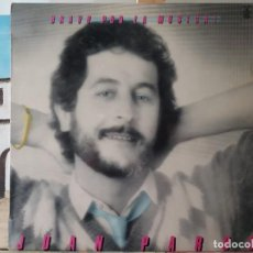 Discos de vinilo: *** JUAN PARDO - BRAVO POR LA MÚSICA ! - LP 1982 - LEER DESCRIPCIÓN. Lote 194763278