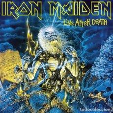 Discos de vinilo: IRON MAIDEN – LIVE AFTER DEATH -2 LP-. Lote 194764473