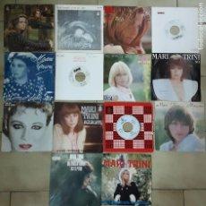 Discos de vinilo: LOTE DE 26 SINGLES DE MARI TRINI. Lote 194764927