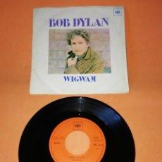 Discos de vinilo: BOB DYLAN. WIGWAM. CALDERA DE COBRE. CBS 1970. Lote 194765517