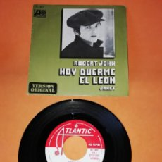 Discos de vinilo: ROBERT JOHN. HOY DUERME EL LEON. JANET. ATLANTIC RECORDS 1972. Lote 194766650