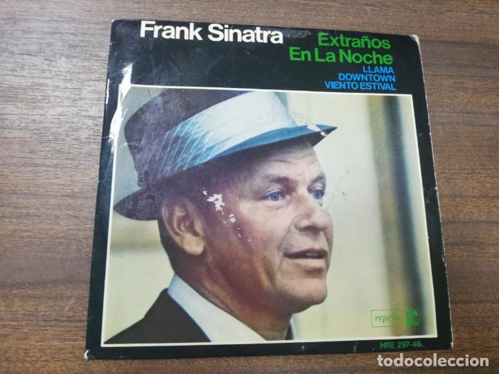 SINGLE. FRANK SINATRA. EXTRAÑOS EN LA NOCHE. VIENTO ESTIVAL. (Música - Discos - Singles Vinilo - Otros estilos)