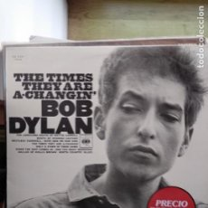 Discos de vinilo: BOB DYLAN - THE TIMES THEY ARE A-CHANGIN'. Lote 194768827